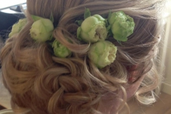 Brudeopsætning & brudehår ved Charlotte Elsted