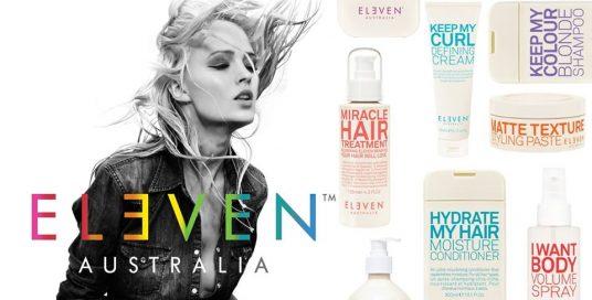 Varm nyhed til dit hår fra ELEVEN AUSTRALIA